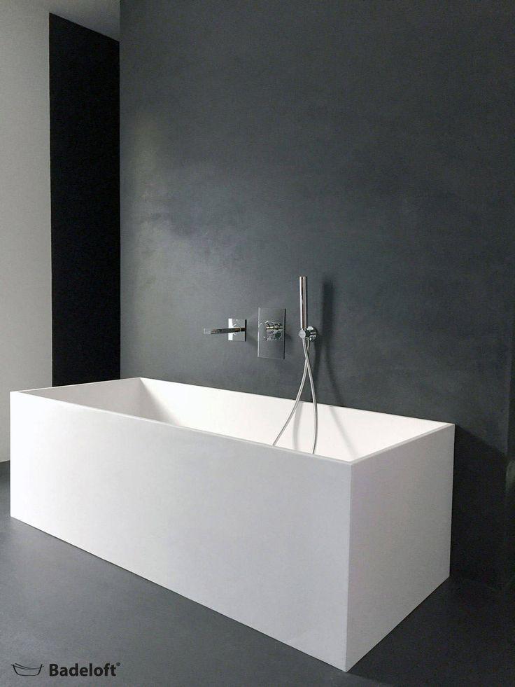 Freistehende mineralguss badewanne bw-06: badezimmer von badeloft gmbh