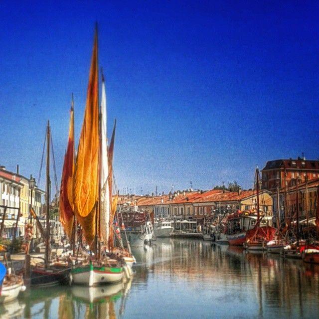 Porto Canale di Cesenatico - Instagram by blugold60