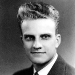 Young Billy Graham.  Born Nov. 7, 1918.