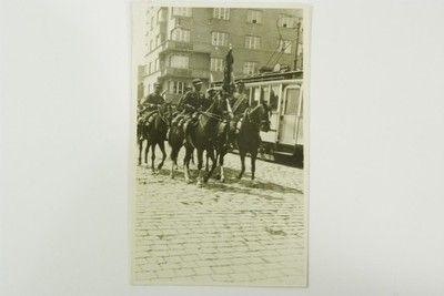 Poczet Sztandarowy 8 Pułku Ułanów - 3 maj 1933 r