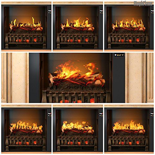MagikFlame (Aphrodite) Antique Ivory Wall Mantel Electric Fireplace Review