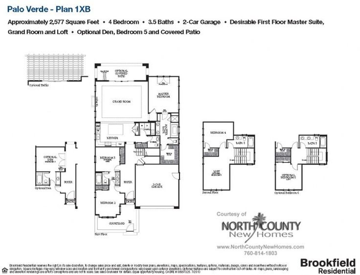 10 best flat plans images on pinterest condos at the for Palo verde homes floor plans