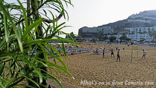 Playa de Puerto Rico at 20:00 hrs...Gran Canaria life is bliss!  #beach #volleyball #playa #puertorico #grancanaria #islascanarias #spain #españa    #lifeisgood #lifeisbeautiful #lifeisbliss #bliss Whats on in Gran Canaria - Google+