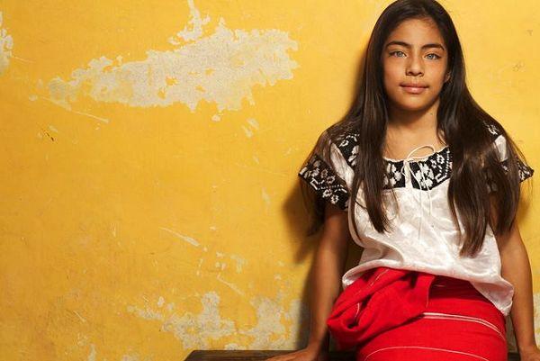 La niña mexicana más bonita es Chiapaneca - Info Noticias
