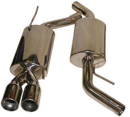 Kit échappement complet en inox poli tous modèles T4 9/1990-6/2003 Chassis normal ou rallongé