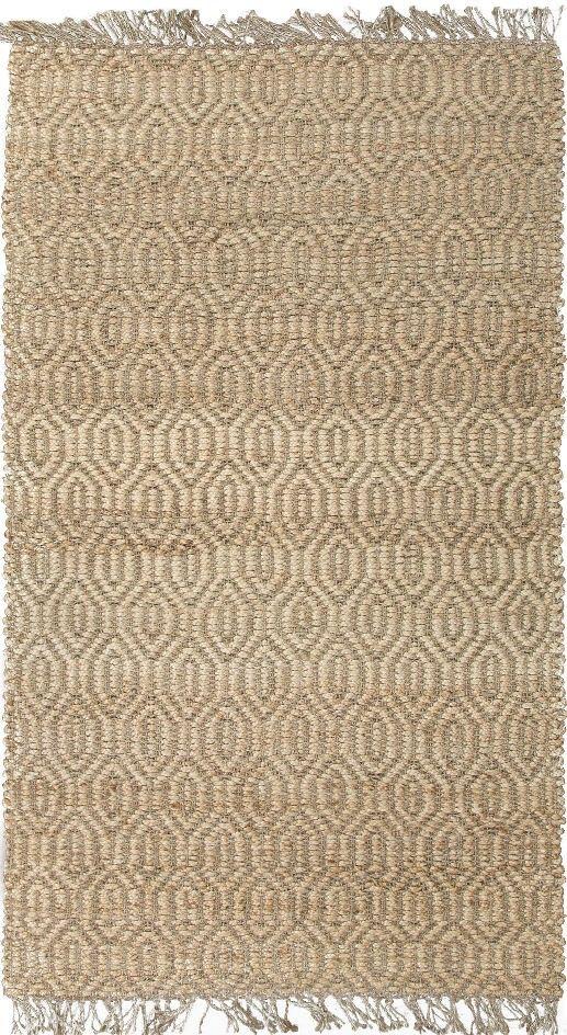 Jaipur nat01 naturals textured jute taupe tan area rug for Home decor jaipur