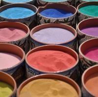 Cómo hacer pintura acrílica en casa