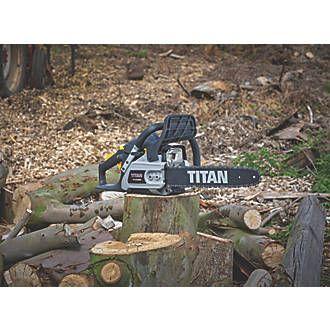 Titan TTL632CHN 40cm 1.9hp 35cc Petrol Chainsaw | Petrol | Screwfix.com