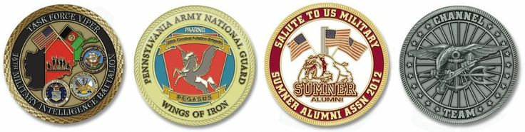 Latest Custom Coin Designs | Challenge Coins Limited