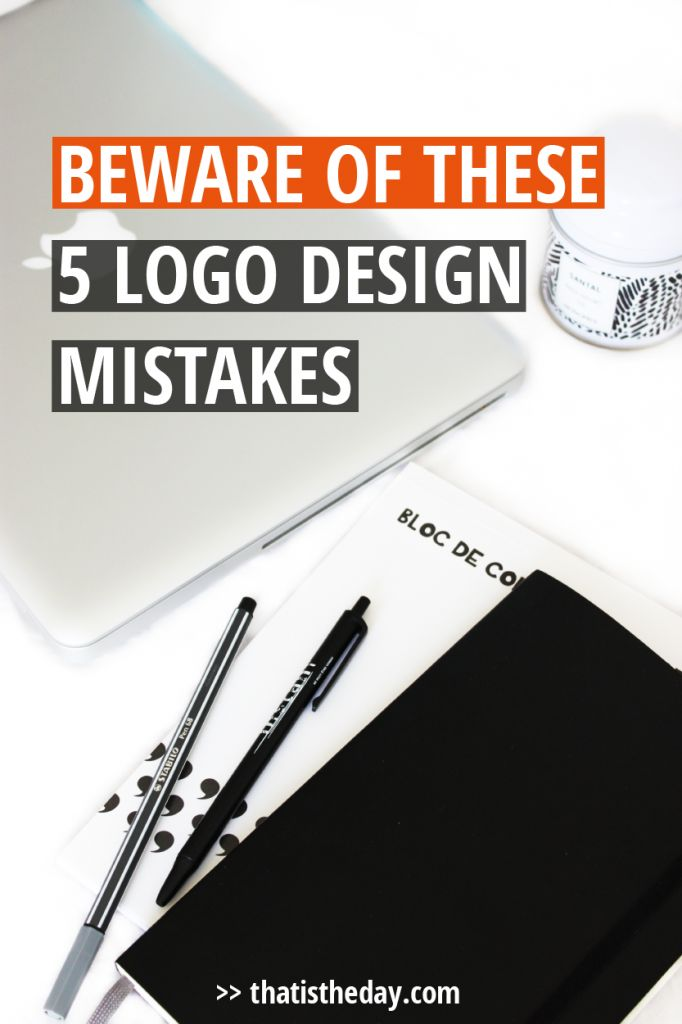 Your logo is the first and most important part of your brand. Everything starts from here. If your logo sucks, your business will look unprofessional. There are 5 common mistakes you should avoid in your logo design | thatistheday.com