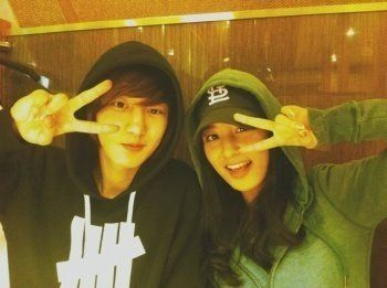 Running For Hope: [PICT] Chanyeol EXO Pre debut Chanyeol and his sister Park Yura