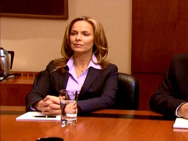 Jan Levinson played by Melora Hardin