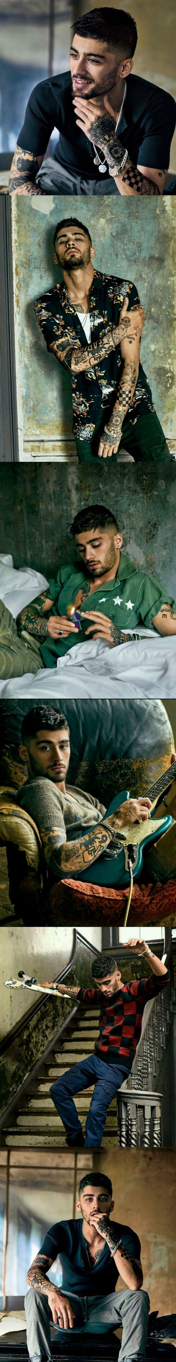 Zayn Malik for GQ ❥ #Zayn Malik