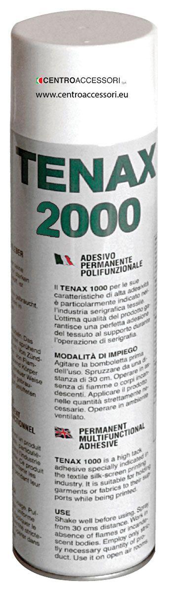 Adesivo spray Tenax 2000 forte e permanente. Strong spray permanent adhesive Tenax 2000. #CentroAccessori