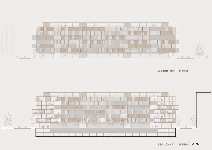 APS Architecture and Design: Vivienda colectiva