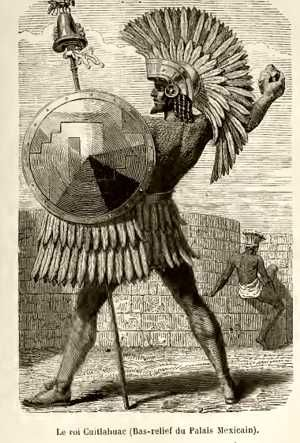 Cuitláhuac, 10th tlatoani of the Aztec Empire, brother of Moctezuma II. After being held captive by the Aztecs, Cortés ordered Moctezuma to ask his people stop fighting. Moctezuma told him that they wouldn't listen to him, and in turn asked him to free his brother Cuitláhuac so he'd convince the people to stop. Once freed, Cuitláhuac led his people against the conquistadors and successfully drove them out of Tenochtitlán on June 30, 1520. After ruling for only 80 days, he died of smallpox.