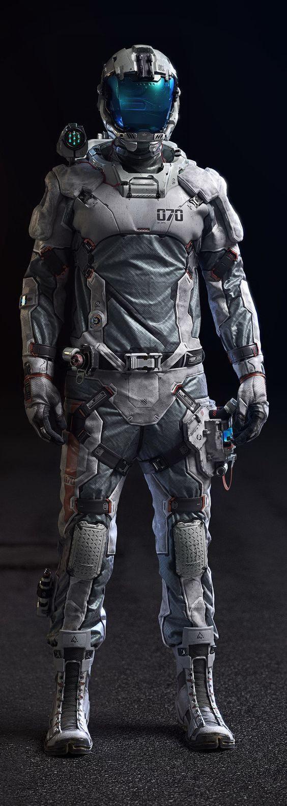 Mark II Advanced Boundary Corp. Battle Suit