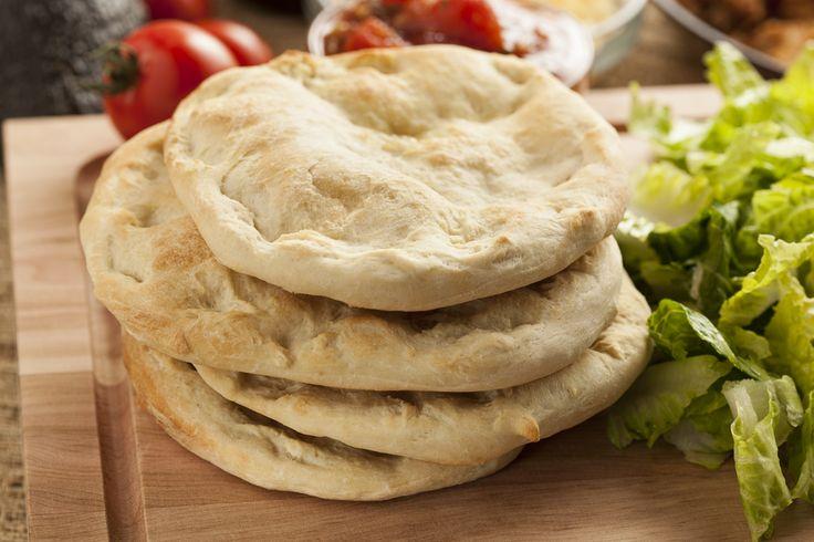 Przepis na chlebek pita