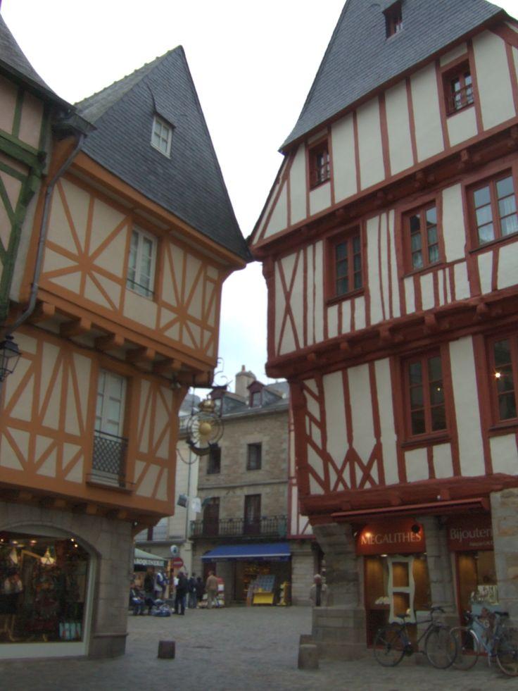 Vannes - Bretagna -Francia (molto carina )