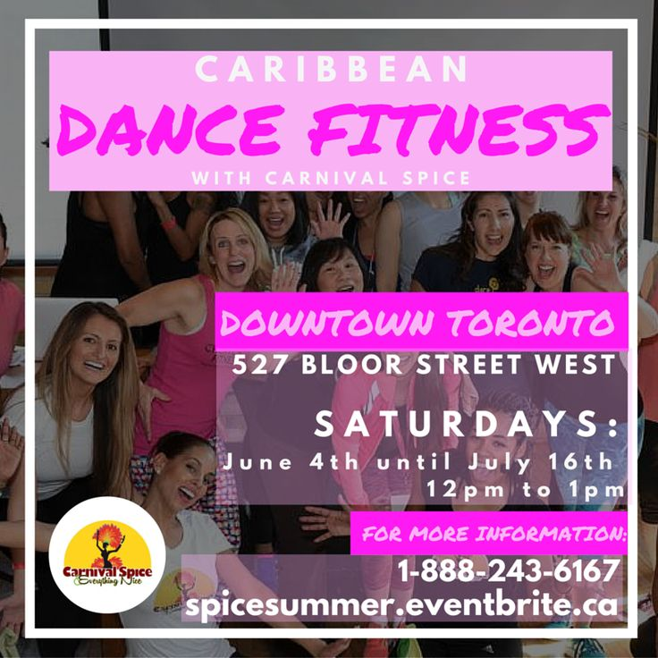 Caribbean Dance Fitness – Downtown