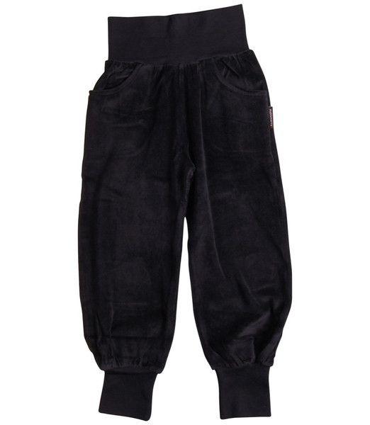 Maxomorra Black Velour Kids Trousers – Juicytots