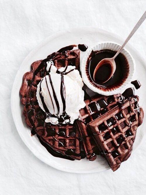 choco waffles
