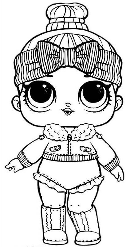 LOL Doll Coloring Pages Lol dolls, Barbie coloring