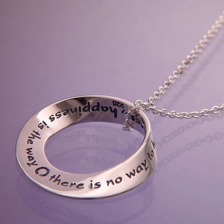 Happiness Mobious Necklace
