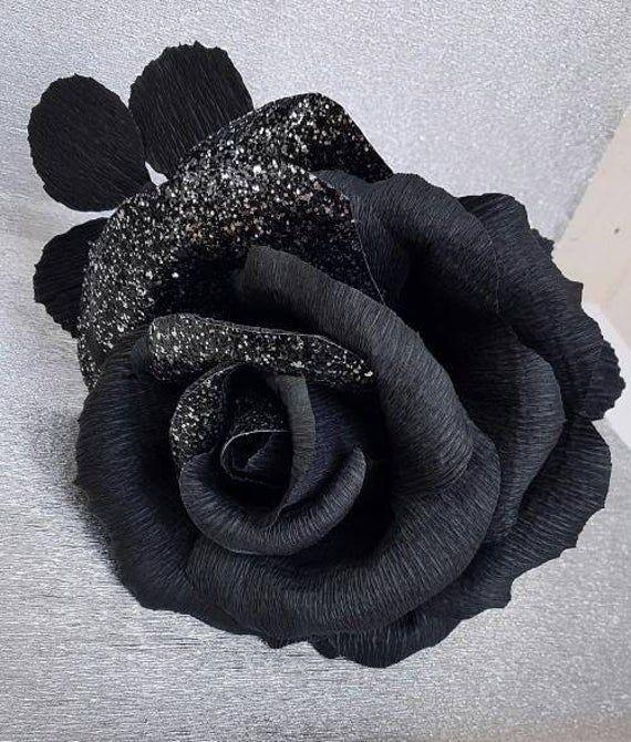 Single Stem black rose, Fashion black rose new design