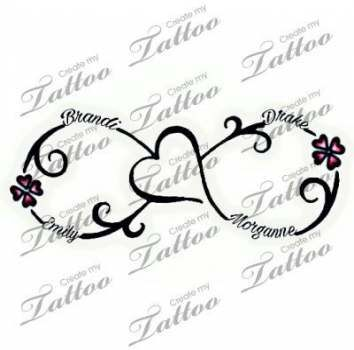 Tattoo mother daughter symbol kid names 47 Super ideas