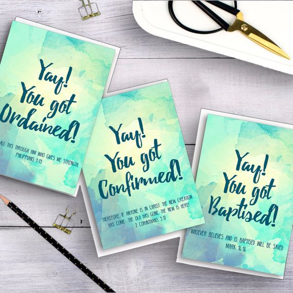 Pack of 3 Church Celebration A6 Cards - Christian Cards - Card Bundle - Modern Card Designs - Christian Gifts