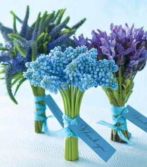 flower girls?: Bride Maids, Flowers Bouquets, Blue Flowers, Wedding Bouquets, Weddings, Wedding Flowers, The Bride, Flowers Ideas, Bridesmaid Bouquets