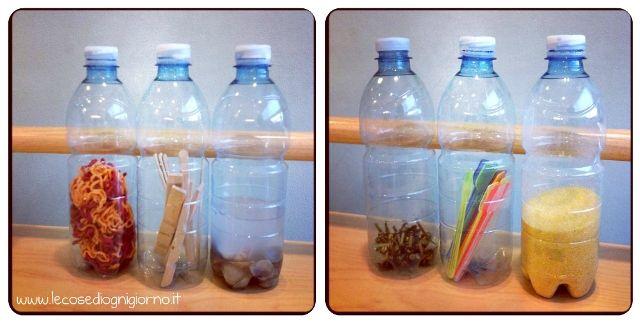bottiglie visive e sonore