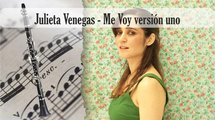 Partitura Julieta Venegas - Me Voy versión uno