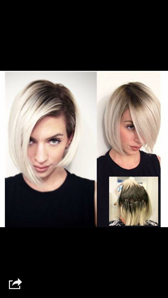 Dark Roots Blonde Hair
