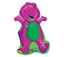 "Barney Party Supplies 34"" Giant Mylar Balloon"