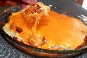 What's Cookin' Italian Style Cuisine: Loaded Buffalo Potato Dip Recipe