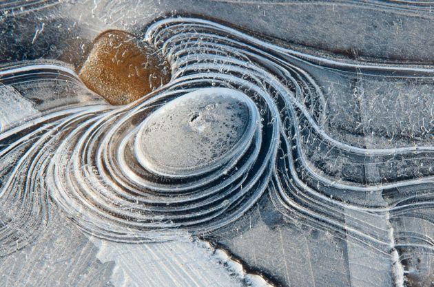 Ice structures © Piet Haaksma