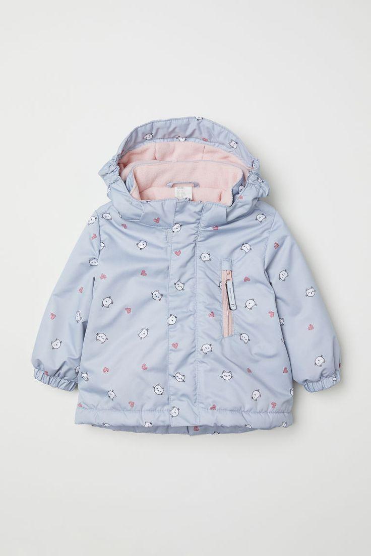 e408af7a0 H M Padded Outdoor Jacket - Pink