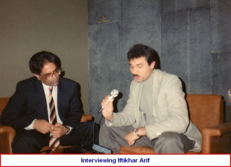 Iftikhar Arif & Hamid Yazdani