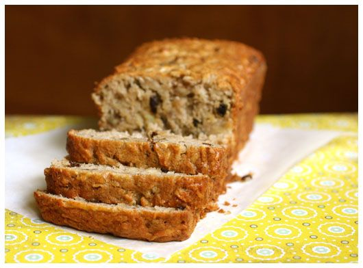 Apple Bread...add your favorite mix-ins, such as golden raisins, dried cranberries, dates, pecans, walnuts, or cinnamon chips