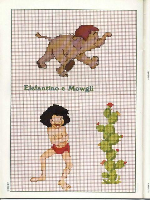 L'elefantino e Mowgli