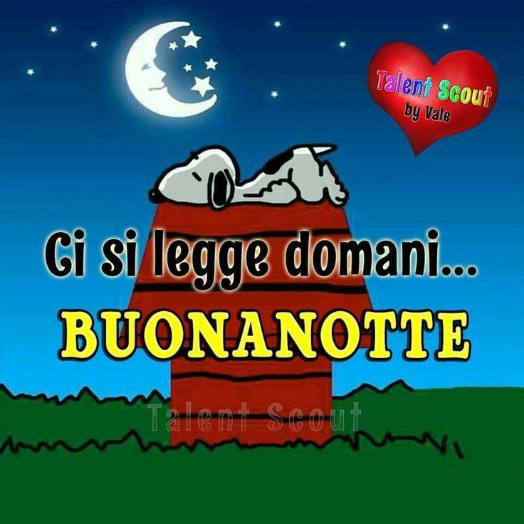Ci si legge domani... Buonanotte #buonanotte snoopy