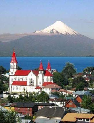 Puerto Varas en esta iglesia me bautizaron, Ambiente bucolico de mis origines