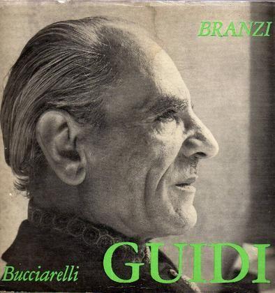 GUIDI - Branzi Silvio, Virgilio Guidi. Ancona, Bucciarelli, 1965.