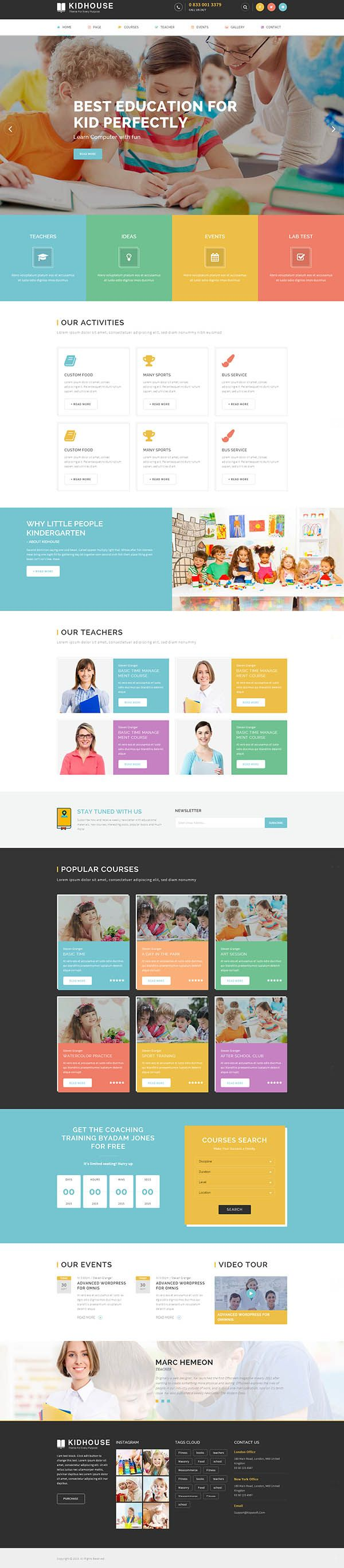 Upside – Multi purpose WordPress theme