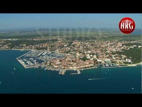 BIOGRAD NA MORU - Aerial TV footage http://www.adriaticaccommodation.net