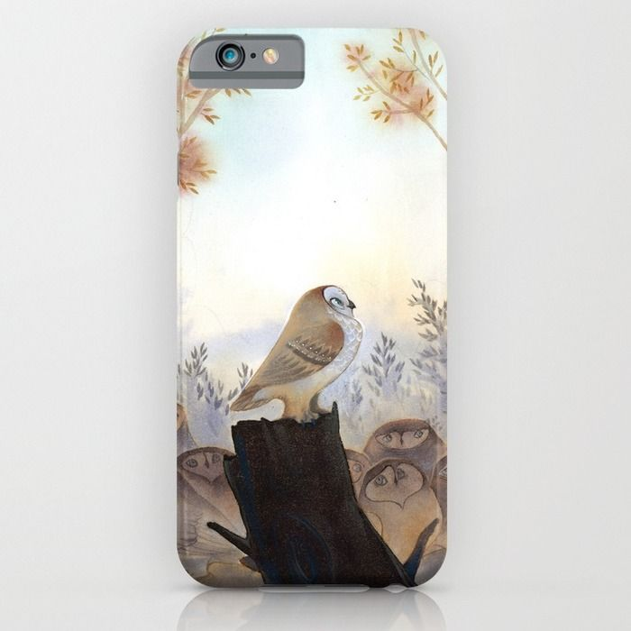Owl meeting iPhone & iPod Case