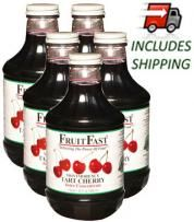 Five Quarts Montmorency Tart Cherry Juice Concentrate, Shipping Included