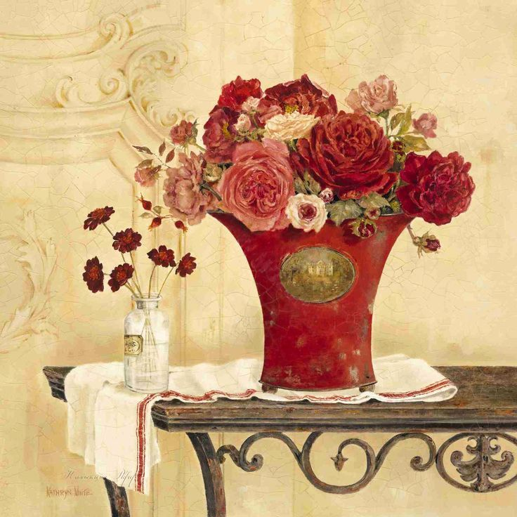 Linen and Roses (Kathryn White)